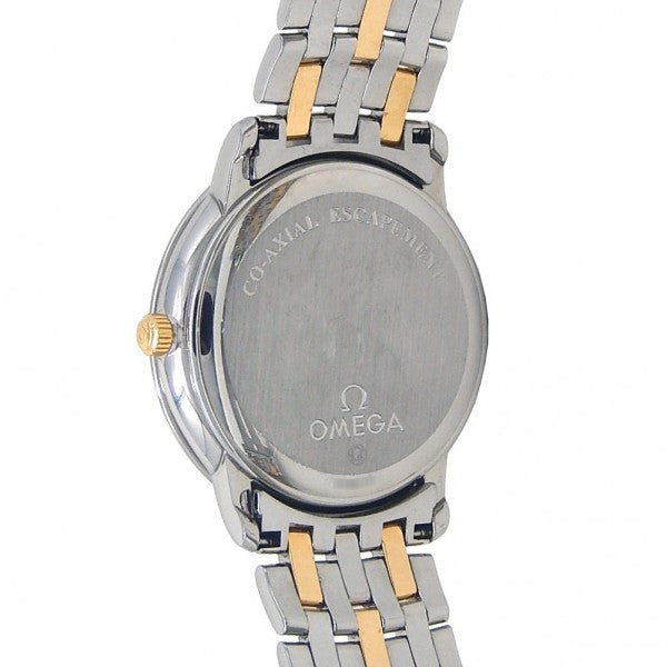 Omega De Ville Prestige 18k Yellow Gold & Stainless Steel Automatic 4374.11.00