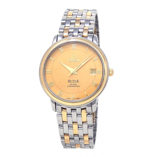 Omega De Ville Prestige 18k Yellow Gold & Stainless Steel Automatic 4374.11.00 - ChronoNation
