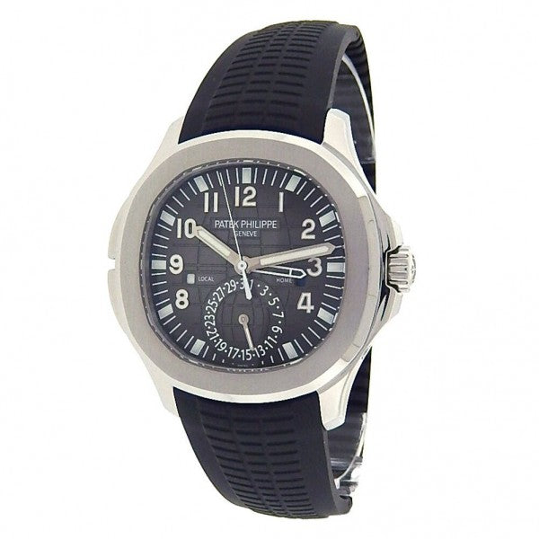 Patek Philippe Aquanaut Dual Time 5164A-001 Stainless Steel Automatic Mens Watch - ChronoNation