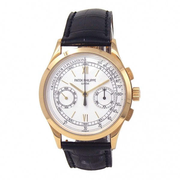Patek Philippe Complication Chronograph 5170J-001 18k Yellow Gold Manual Watch - ChronoNation