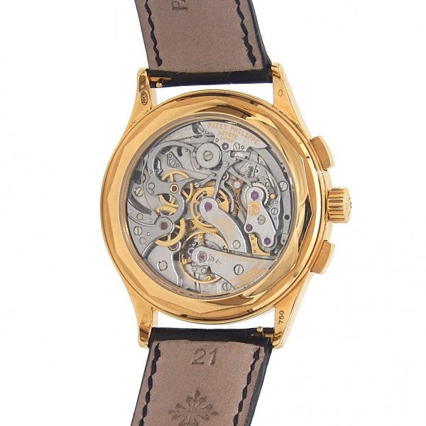 Patek Philippe Complication Chronograph 5170J-001 18k Yellow Gold Manual Watch