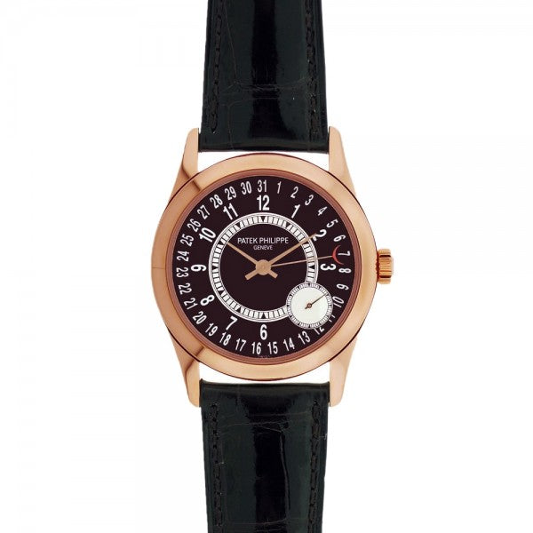 Patek Philippe Calatrava 6000R 18k Rose Gold Automatic Dress Men's Watch