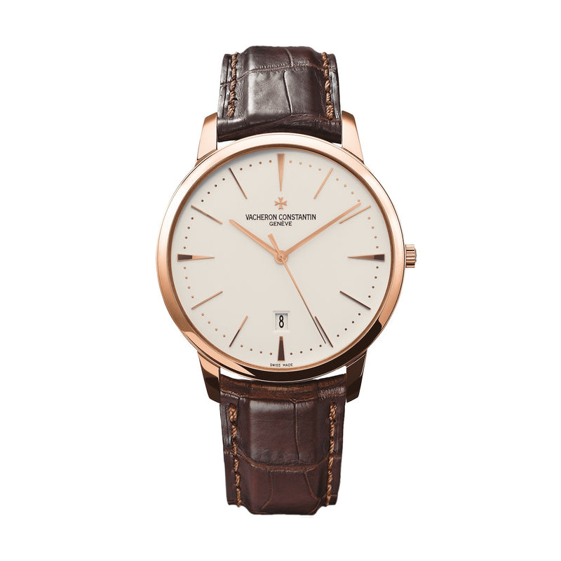 Vacheron Constantin Patrimony 85180/000R-9248 18K Rose Gold Silver Dial Men's Watch