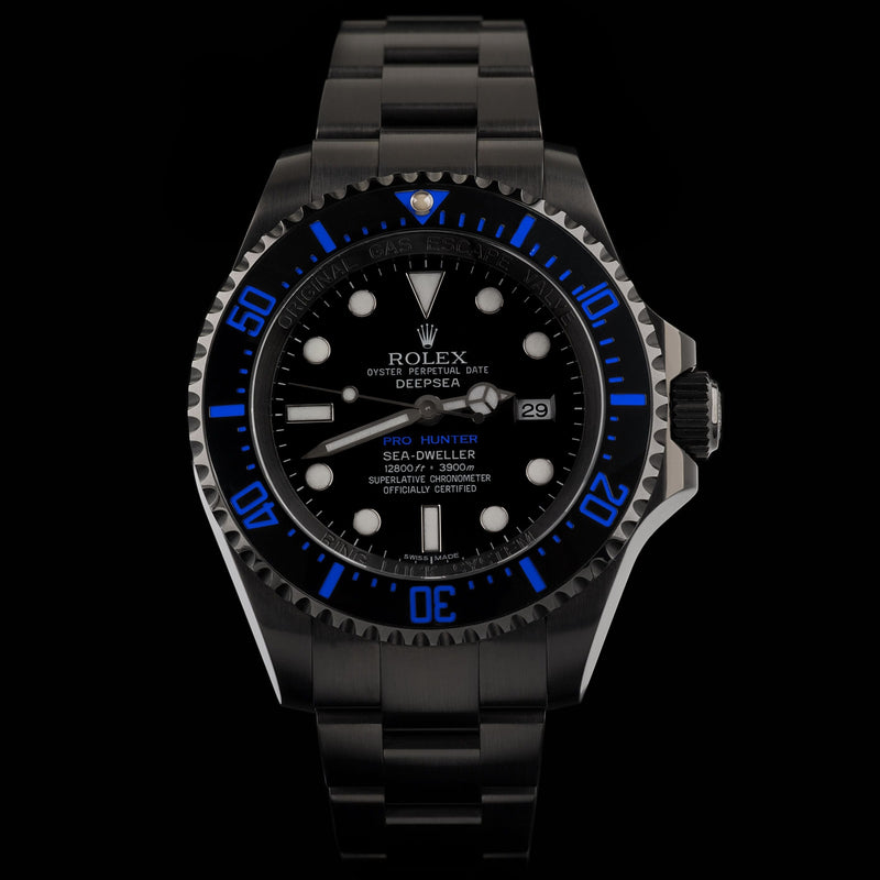 Pro Hunter Deepsea Blue 126660 or 116660 Men's Watch