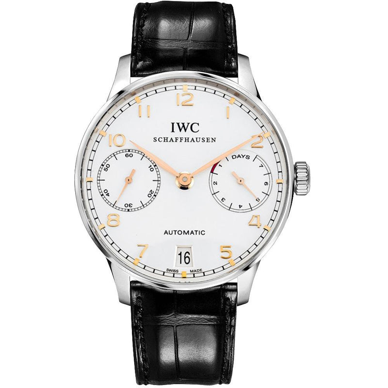 IWC Portuguese 7 Day Power Reserve 42mm IW500704 Stainless Steel Men's Watch