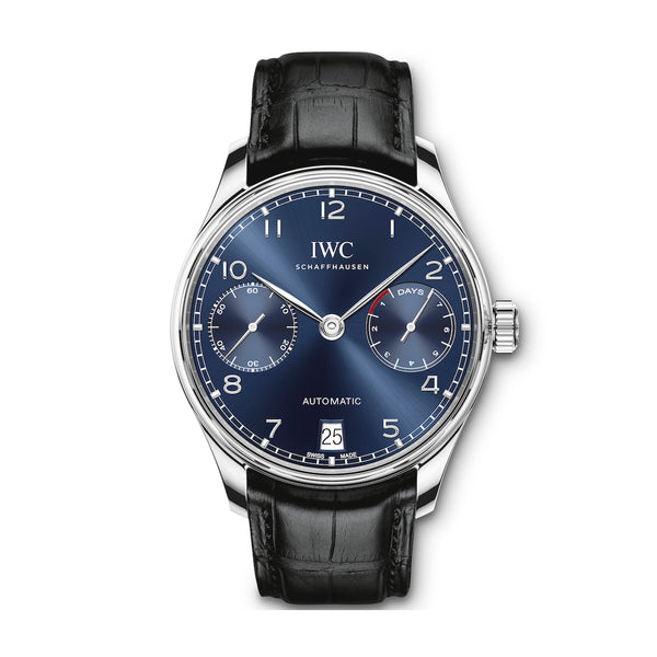 IWC Portuguese 7 Day Power Reserve 42mm IW500710 Stainless Steel Men's Watch