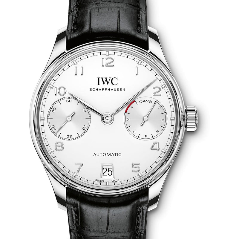IWC Portuguese 7 Day Power Reserve 42mm IW500712 Stainless Steel Men's Watch