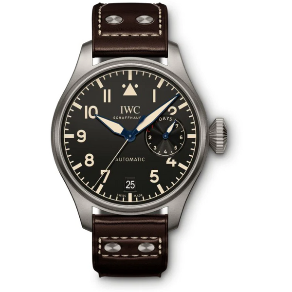 IWC Big Pilot Heritage 46mm IW501004 Titanium Black Dial Men's Watch