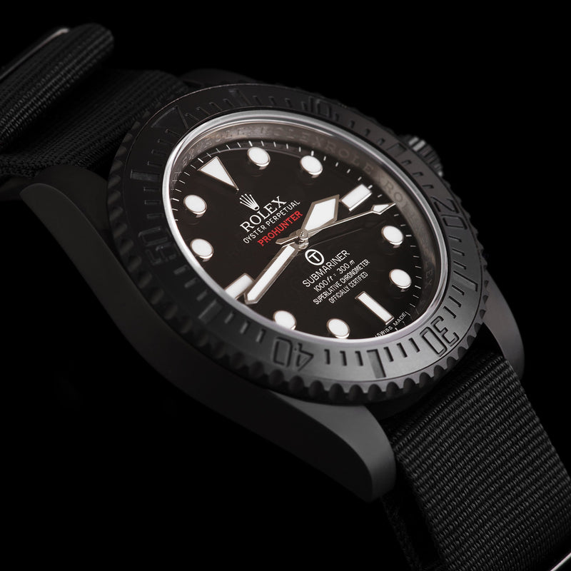 Pro Hunter Submariner Military With Strap 114060 Men's Watch