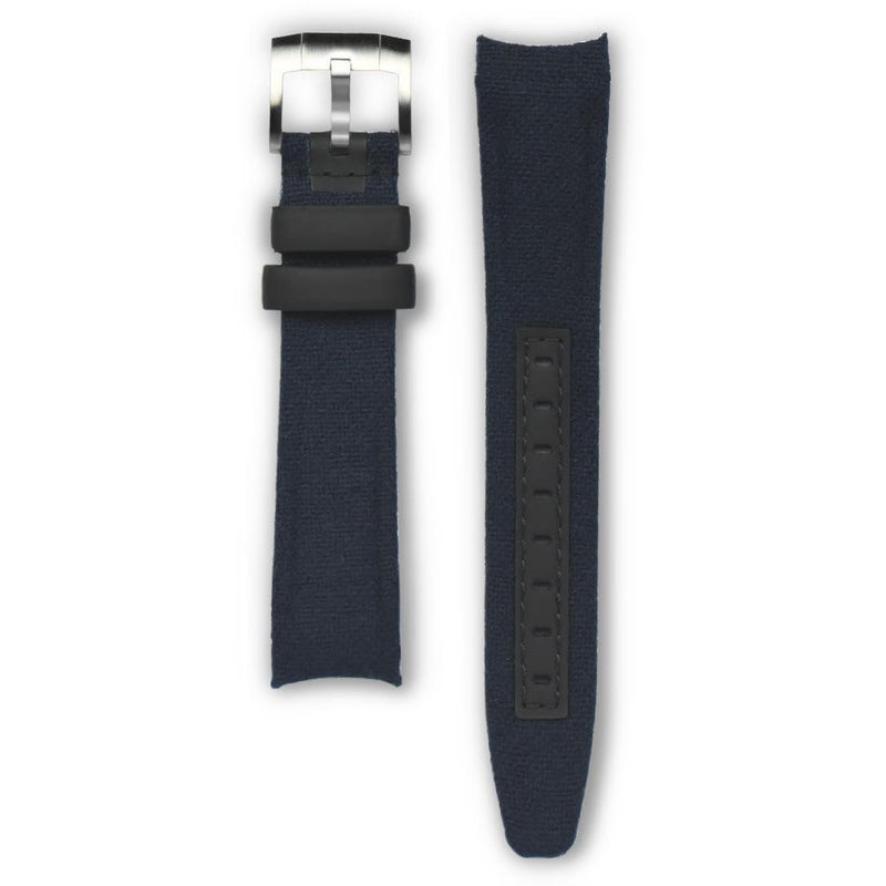 EVEREST CURVED END NYLON ROLEX EXPLORER I TANG BUCKLE