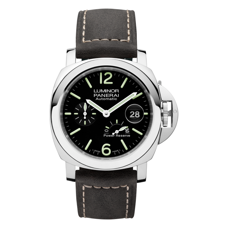 Panerai Luminor Power Reserve PAM01090 Automatic Black Dial Men's Watch