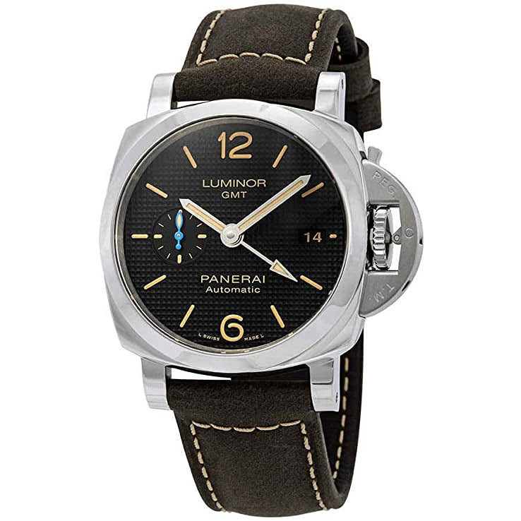 Panerai Luminor 1950 3 day GMT Stainless Steel Automatic Men's Watch PAM01535