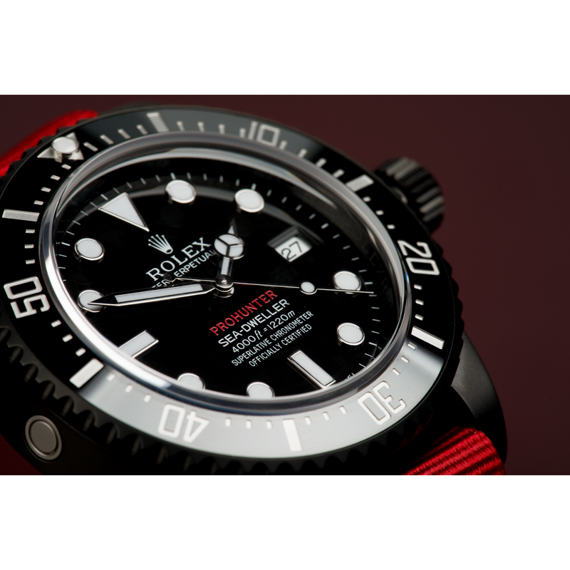 Pro Hunter Military Sea-Dweller 116600 Men's Watch