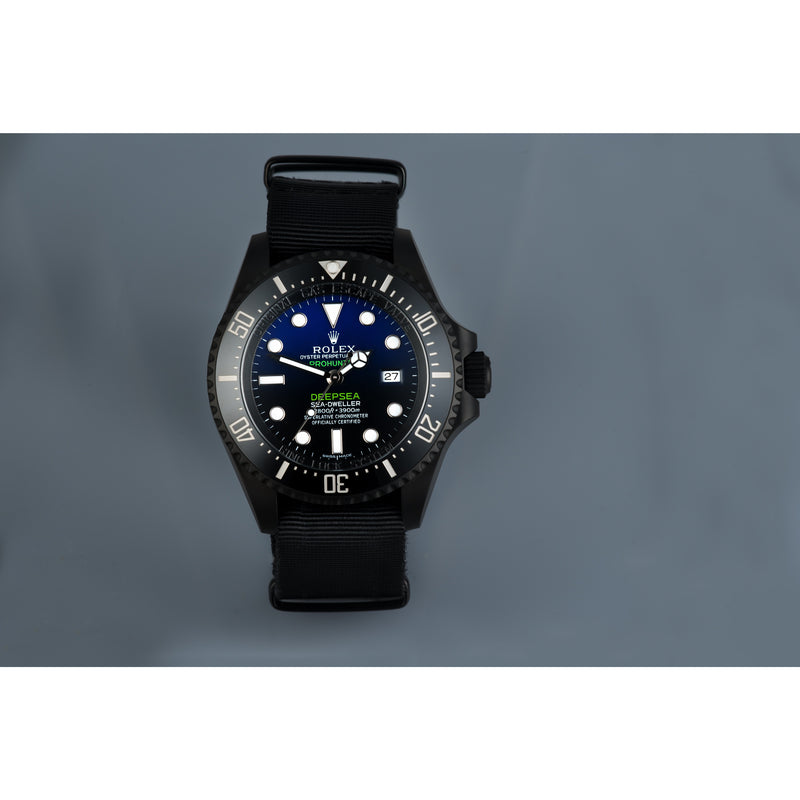 Pro Hunter Military Stealth Deepsea D-Blue 126660 or 116660 Men's Watch
