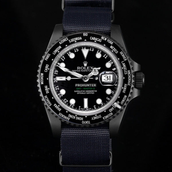 Pro Hunter Military World Time Men's Watch