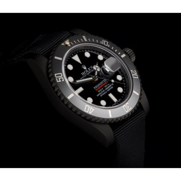 Pro Hunter Military Stealth Submariner Date 116610LN Men's Watch