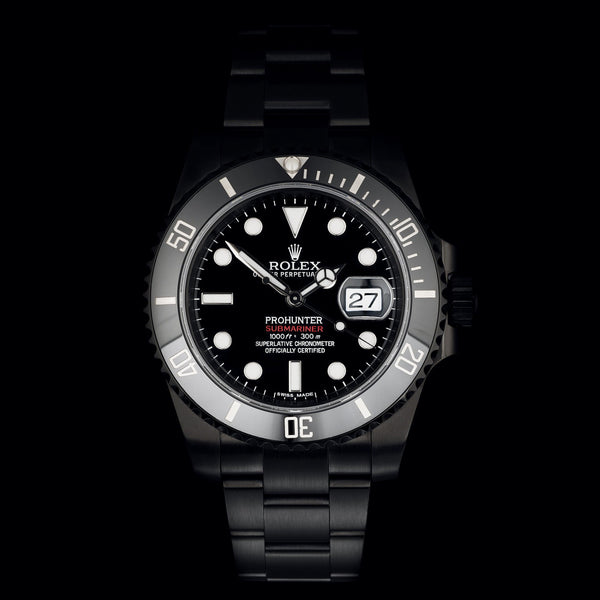 Pro Hunter Stealth Submariner Date 116610LN Men's Watch