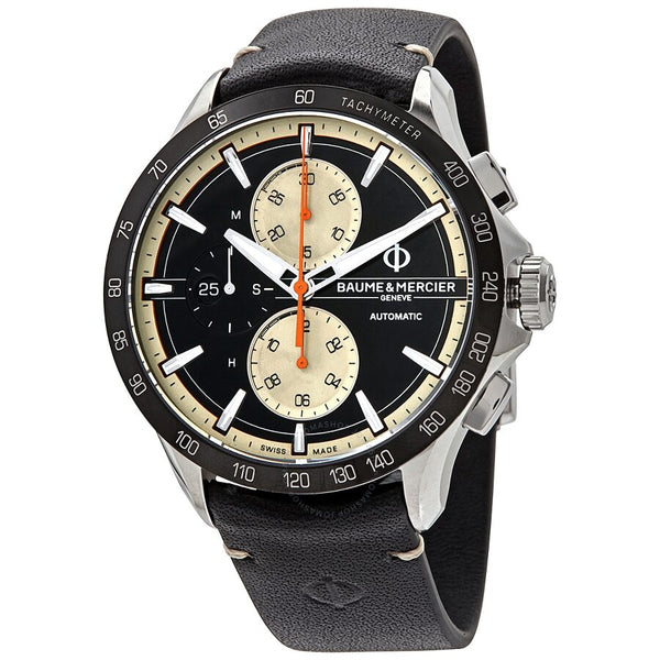 Baume and Mercier Clifton Club Automatic Chronograph Tachymeter Date Men's Watch 10434