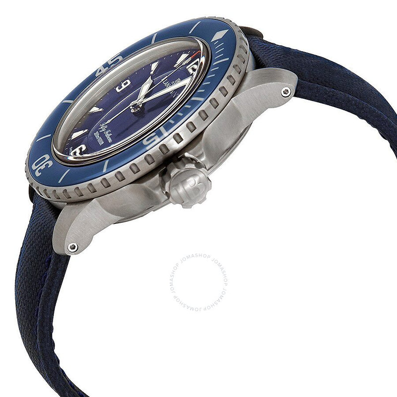 Blancpain Fifty Fathoms Automatic Blue Dial Men's Watch 5015-12B40-O52A