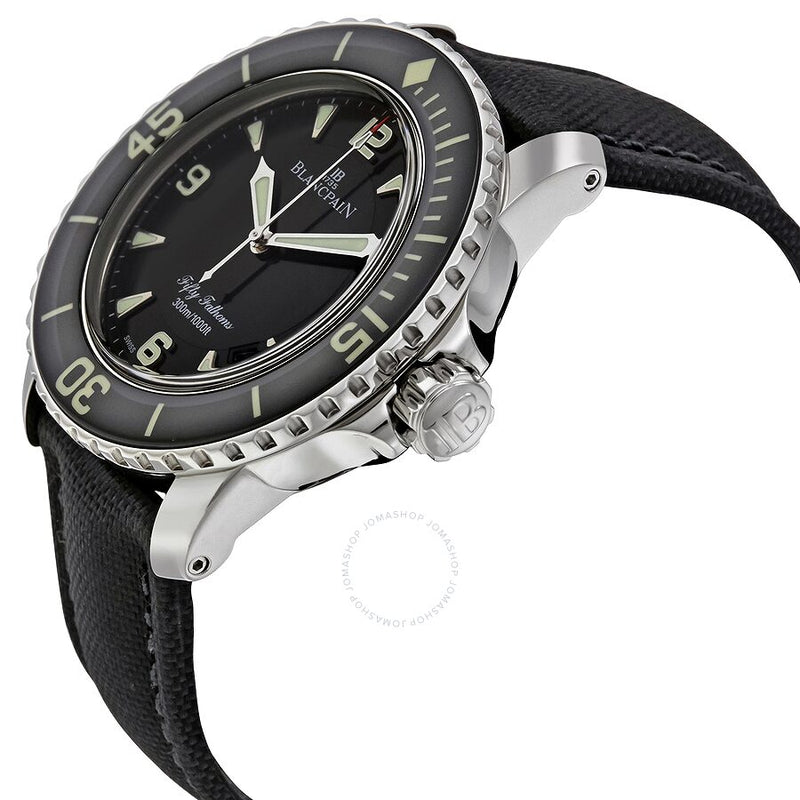 Blancpain Fifty Fathoms Automatic Black Dial Men's 5015-1130-52B