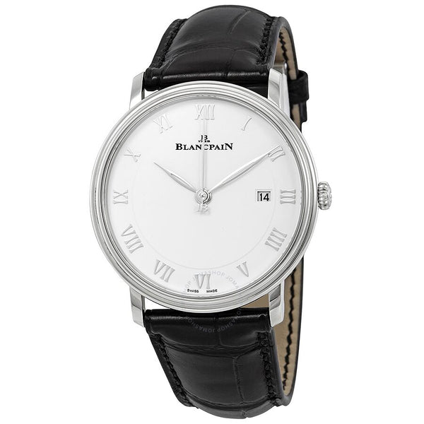 Blancpain Villeret Ultra Slim Automatic White Dial Men's Watch 6651-1127-55B