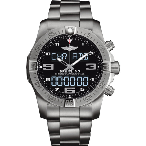 Breitling Exospace B55 Volcano 46mm EB5510H1 Titanium Men's Watch