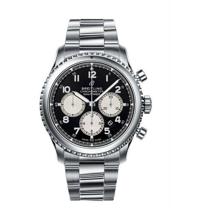 Breitling Avenger II GMT 43 A32390 Stainless Steel Men's Watch