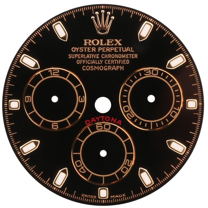 Rolex Daytona Black Two-Tone Dial