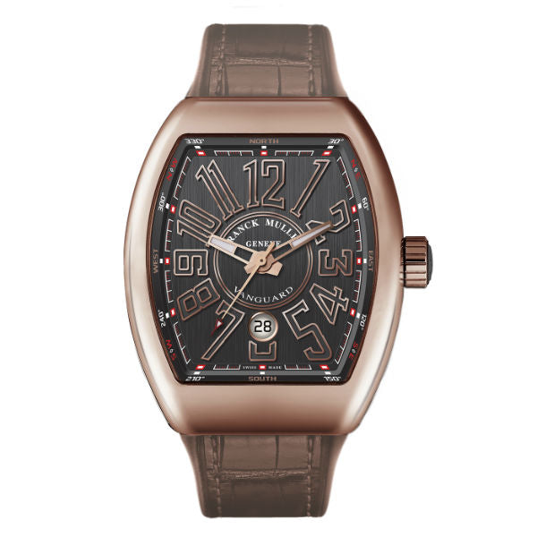 Franck Muller Vanguard 43x53mm V45 SC DT 5N NR 18K Rose Gold Men's Watch