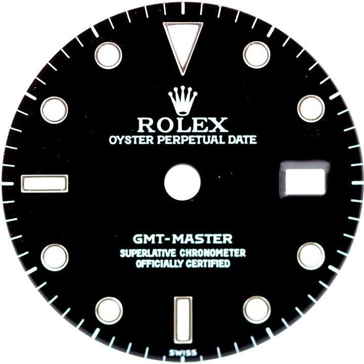 Rolex GMT-Master Black Index Marker Dial