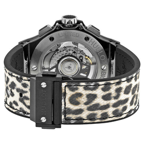 Hublot Big Bang Chronograph Leopard 41mm 341.CW.7717.NR.1977 Stainless Steel Unisex Watch