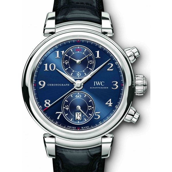 IWC Davinci Chronogragh Edition Laureus Sport 42mm IW393402 Stainless Steel Men's Watch