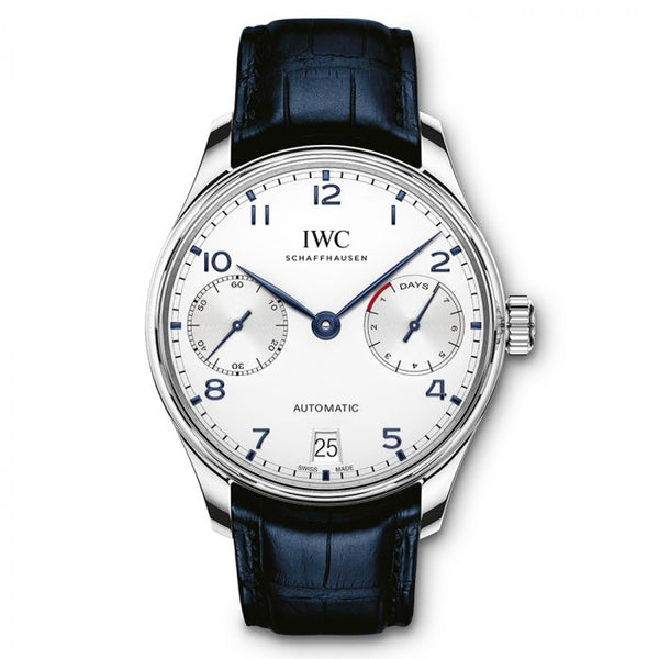 IWC Portuguese 7 Day Power Reserve 42mm IW500705 Stainless Steel Men's Watch