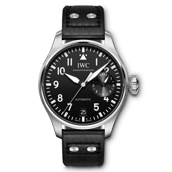 IWC Big Pilot 46mm IW501001 Stainless Steel Black Dial Men's Watch