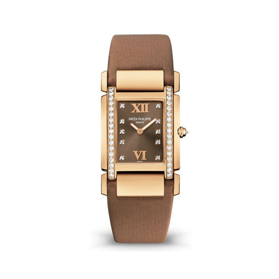 Patek Philippe Twenty 4 30mmx25mm 4920R-001 18K Rose Gold Women's Watch