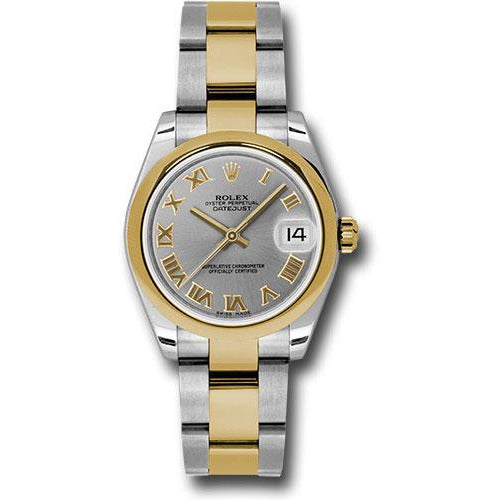 Rolex Datejust 36mm 18K Yellow Gold & Stainless Steel 178243