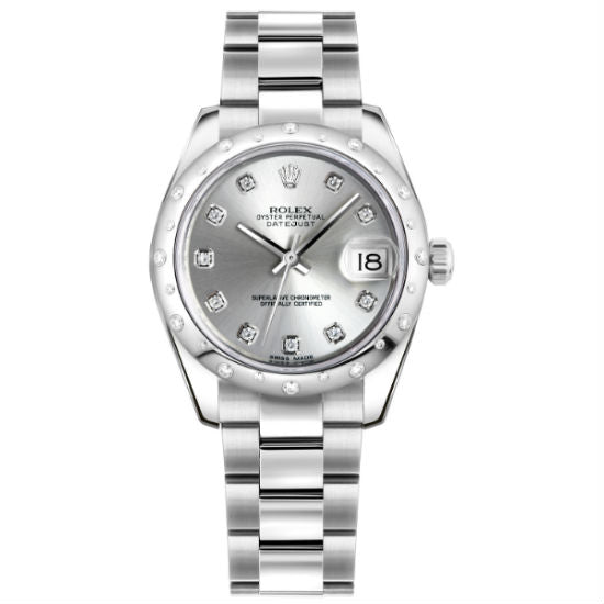 Rolex Datejust 36mm 178344 Stainless Steel Women's Watch