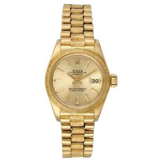 Rolex Datejust 26mm 179175 18K Rose Gold Men's Watch