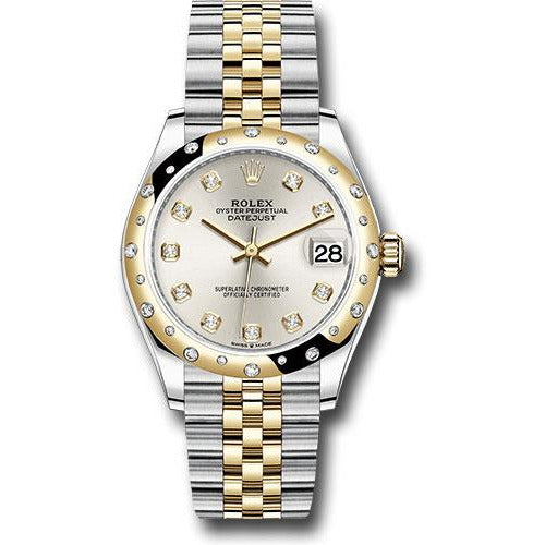 Rolex Datejust 36mm 278343RBR 18K Yellow Gold & Stainless Steel Women's Watch