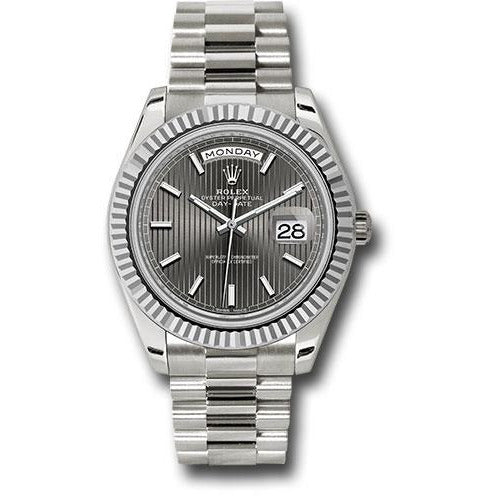 Rolex Day Date 40mm 228239 18K White Gold Men's Watch