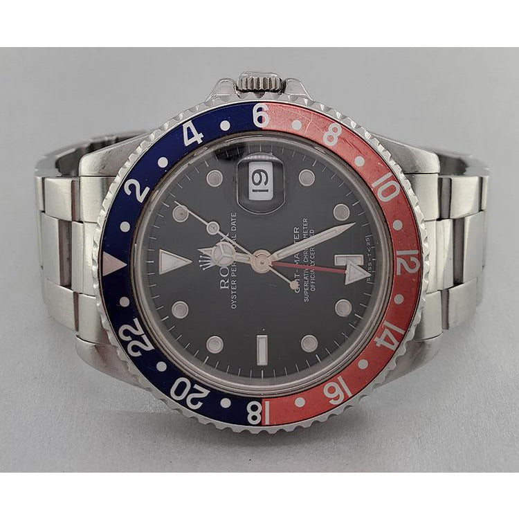Rolex GMT-MASTER 40mm 16700 Stainless Steel Men's Watch