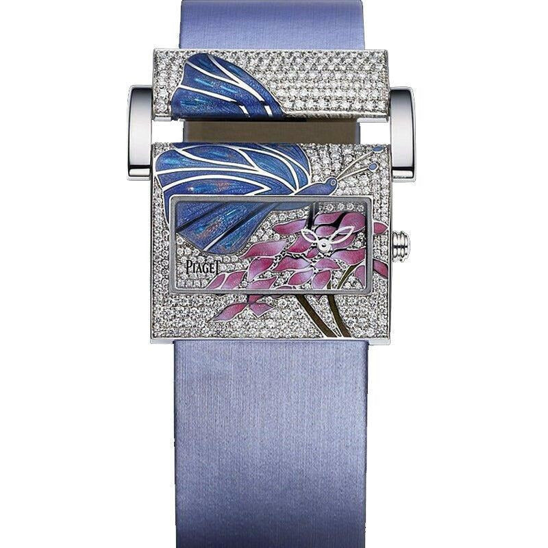 Piaget Miss Protocole Purple Dial Ladies Watch G0A33130