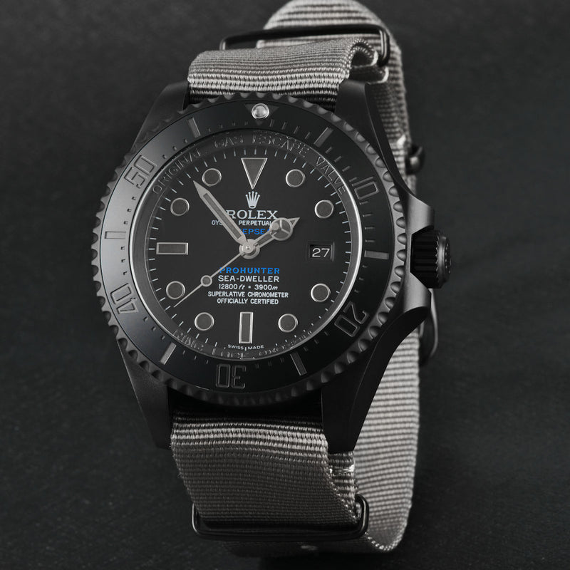 Pro Hunter Phantom Military Deepsea 126660 or 116660 Men's Watch