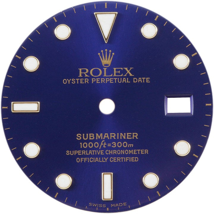Rolex Submariner Blue Dial - ChronoNation
