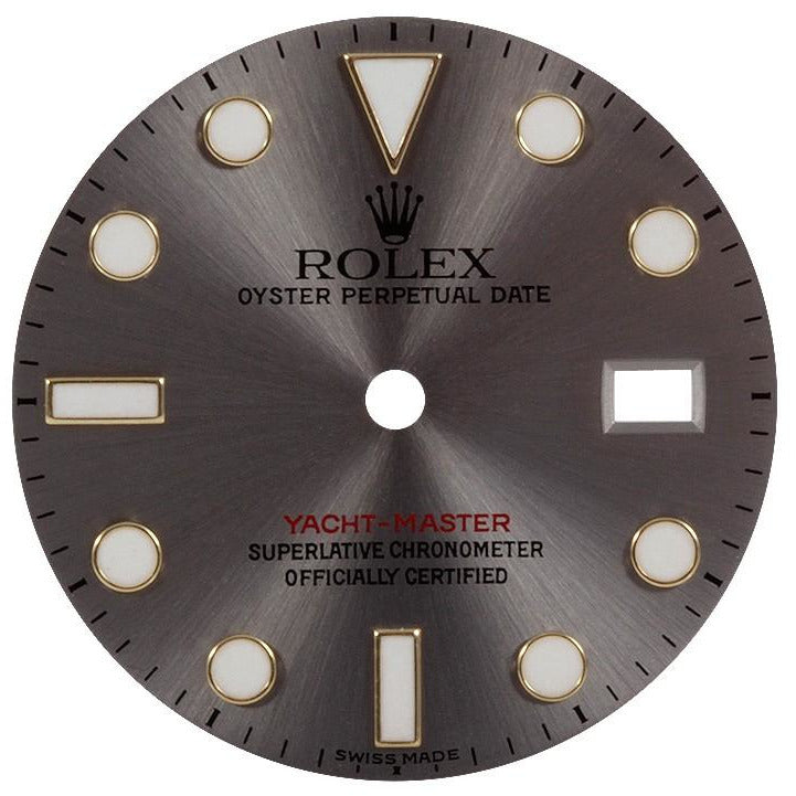 Rolex Day-Date II White Gold Brown Roman Dial