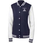 Sport-Tek Women's Fleece Letterman Jacket