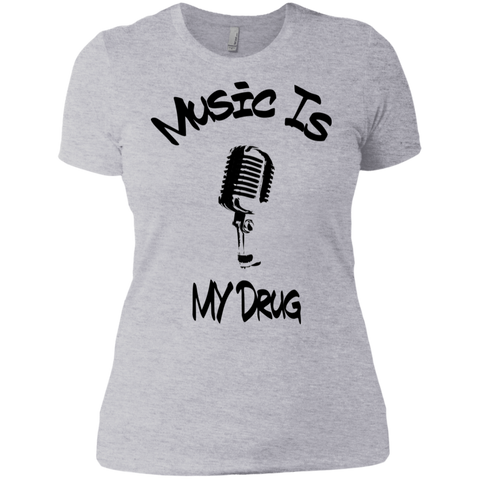 Music is My Drug Boyfriend T-Shirt