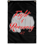 Fight 4 Recovery AZ Wall Flag