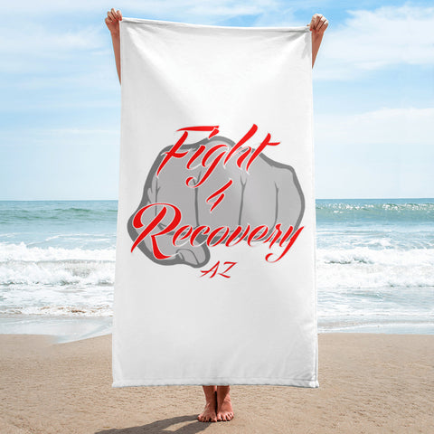 Fight 4 Recovery AZ Towel