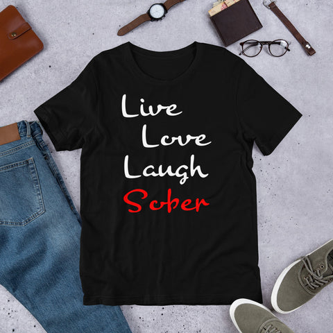 Live Love Laugh Sober